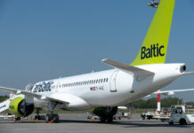 Airbus A220-300 airBaltic
