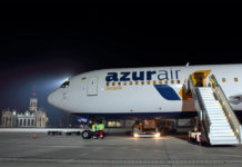 Boeing 767 Azur Air Ukraine в аэропорту Харькова