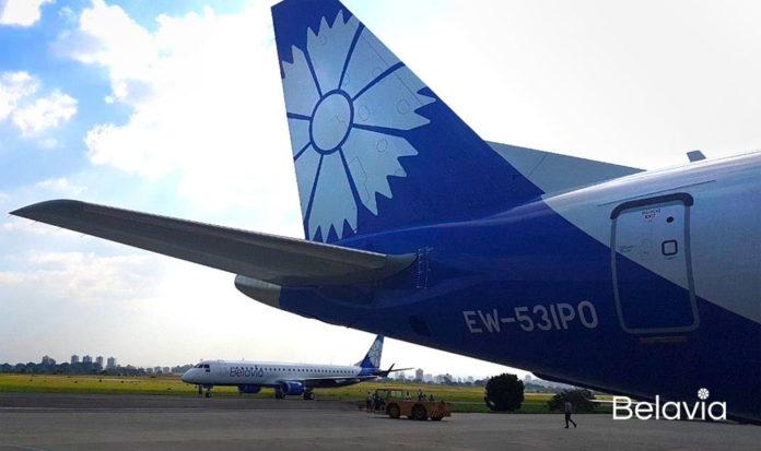 Самолеты Embraer в ливрее