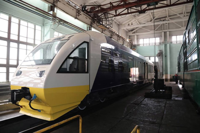 PESA 620M после ремонта для маршрута в аэропорт Борисполь