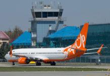 Самолет Boeing 737-800 SkyUp UR-SQH