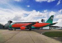"""Airbus A320 """"Розы Ветров"""" UR-WRW"""