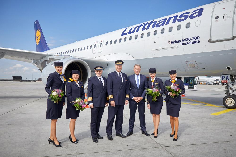 Экипаж Airbus A320 Lufthansa Papa Alpha