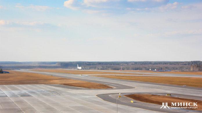 Вторая взлетно-посадочная полоса в аэропорту Минск