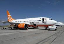 Boeing 737-700 в ливрее SkyUp