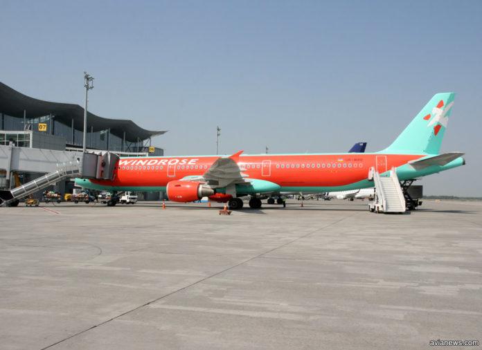 Airbus A321 авиакомпании