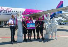 Wizz Air отметила запуск первых рейсов в Грецию из Киева