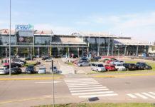 Терминал А в аэропорту Жуляны после расширения