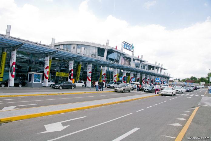 Новый терминал А в аэропорту Жуляны после расширения