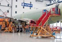Завод Airbus в Гамбурге. Процесс производства самолета A320