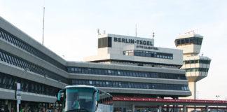 Главный терминал в аэропорту Берлина Тегель