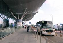 Уровень вылета терминала D, аэропорт Борисполь