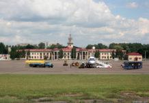 Старый терминал в аэропорту Львов