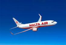 Boeing 737-800 в ливрее Malta Air