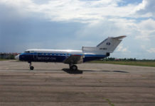 "Як-40 ""Мотор Сич"" в аэропорту Ужгород"