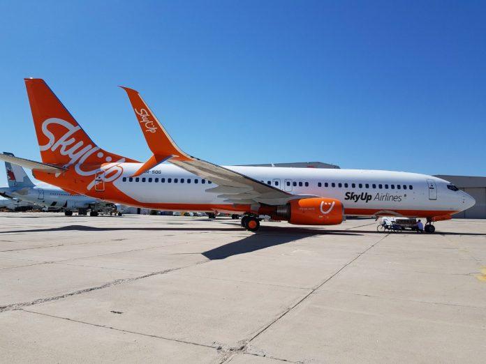 Boeing 737-800 UR-SQG SkyUp