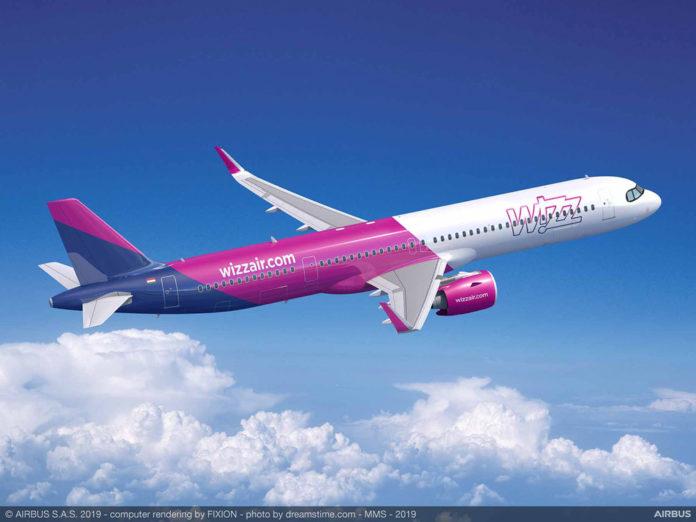 Airbus A321XLR Wizz Air