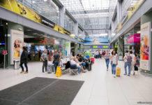 Международный терминал А в аэропорту Жуляны