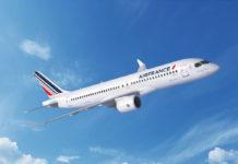 Airbus A220-300 в ливрее Air France