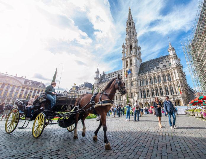 Брюссель, центральная площадь города