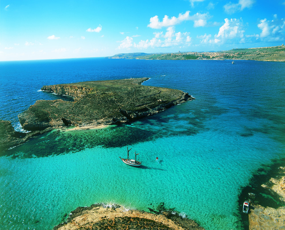 Голубая лагуна на Мальте