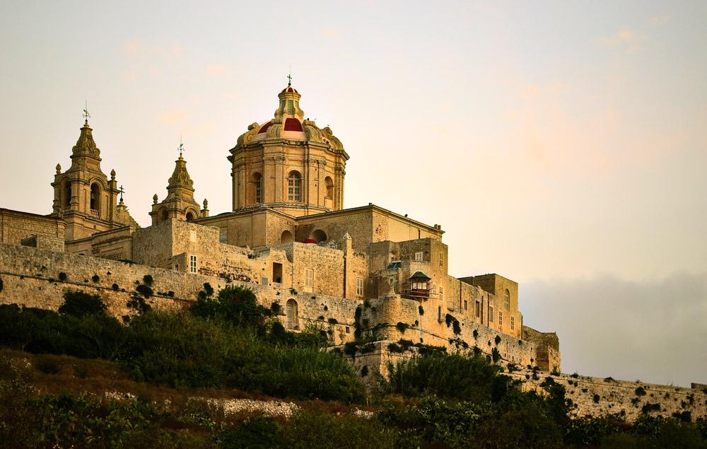 Бывшая столица Мальты Мдина