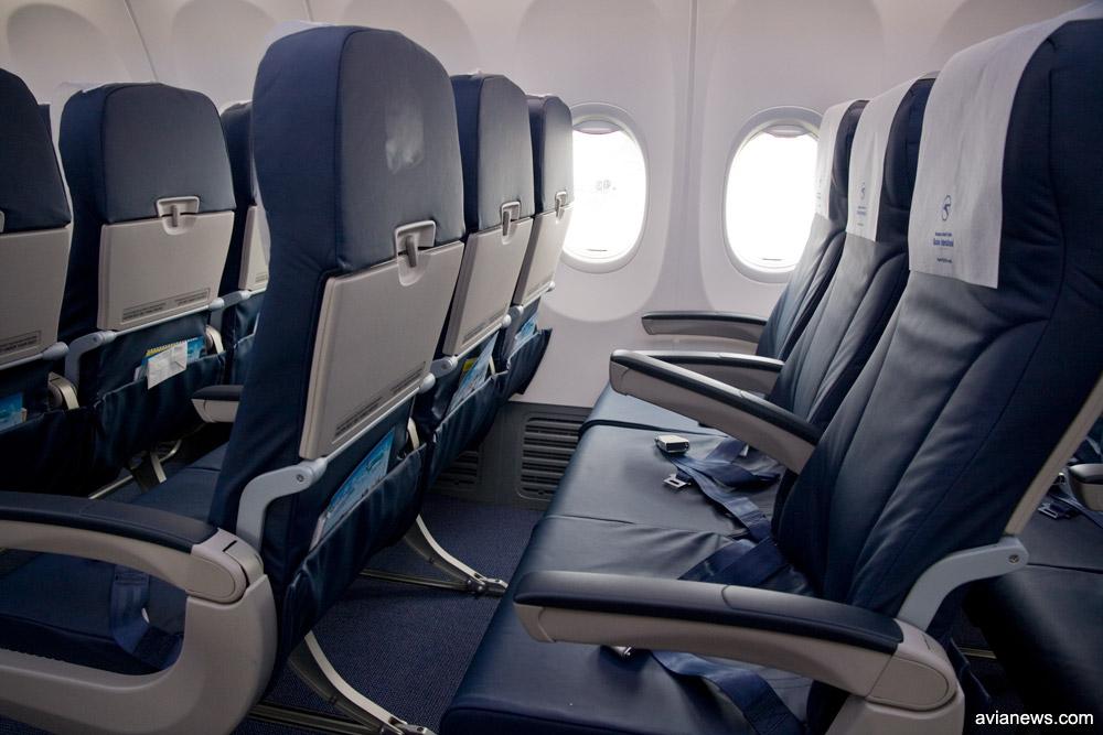 Кресла в Boeing 737-800 МАУ