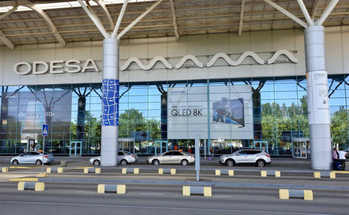 Новый терминал в аэропорту Одесса