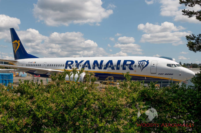 Boeing 737 MAX 200 Ryanair