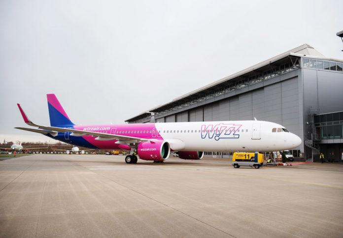 Airbus A321neo Wizz Air.