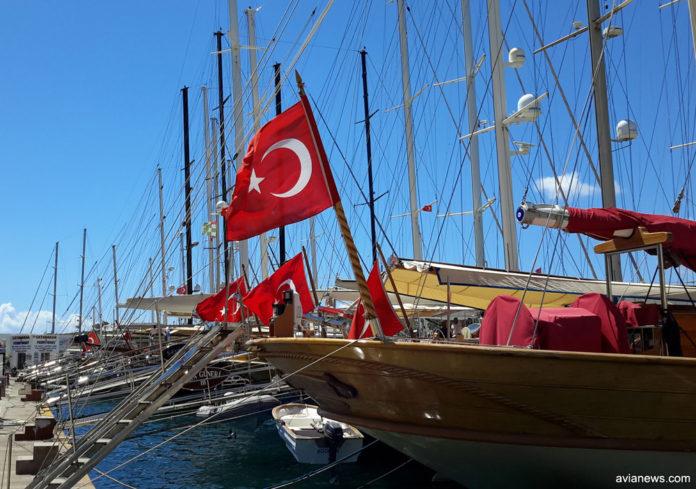 Причал в Бодруме, Турция