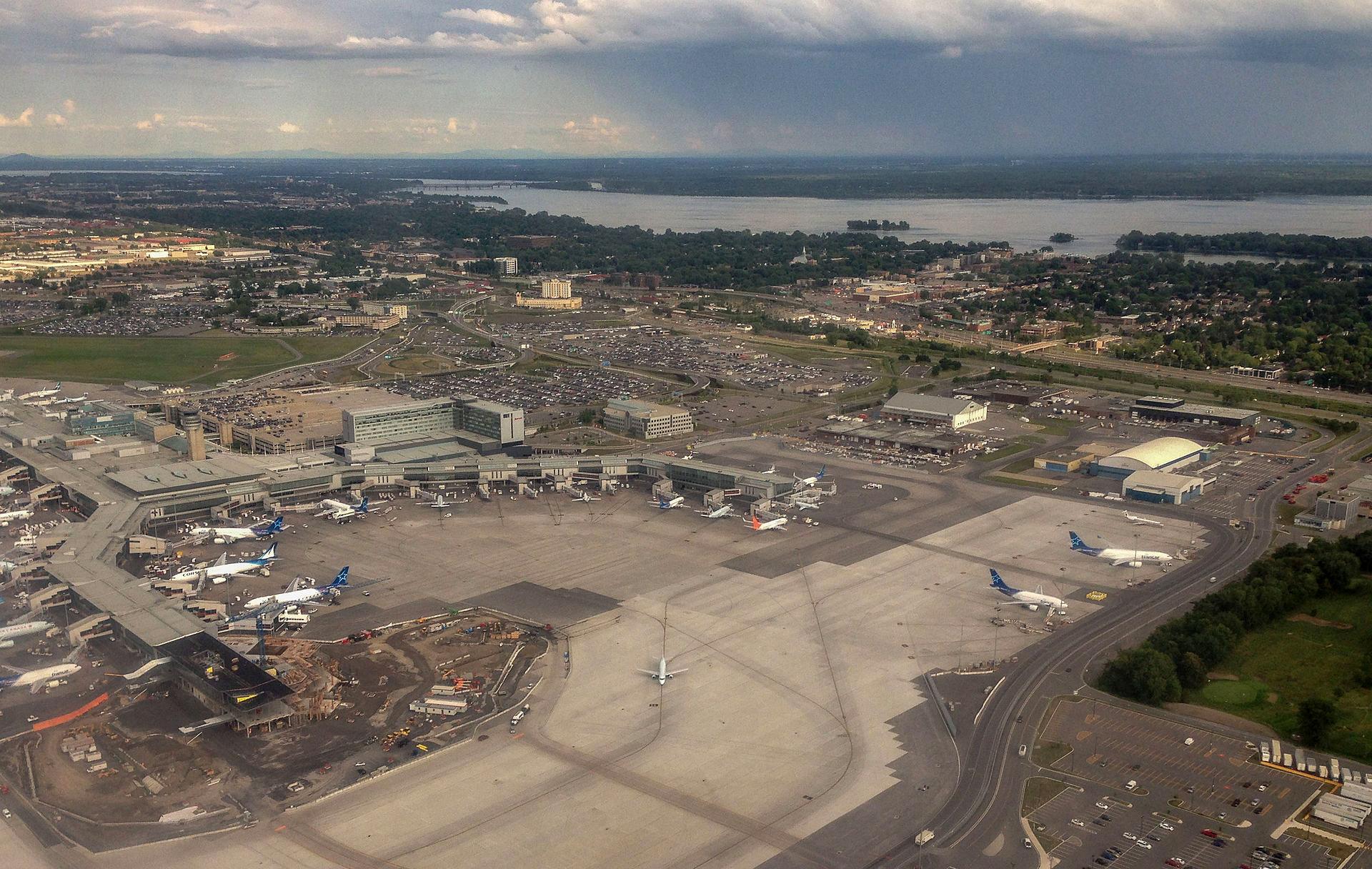Аэропорт Монреаля Дорваль в 2014 году