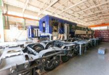 Сборка дизель-поезда ДПКр-3 на Крюковском вагоностроительном заводе