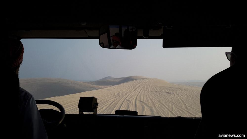 Поездка по пустыне в Катаре