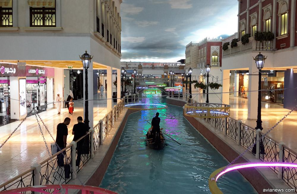 Шоппинг-молл Villagio в столице Катара Дохе
