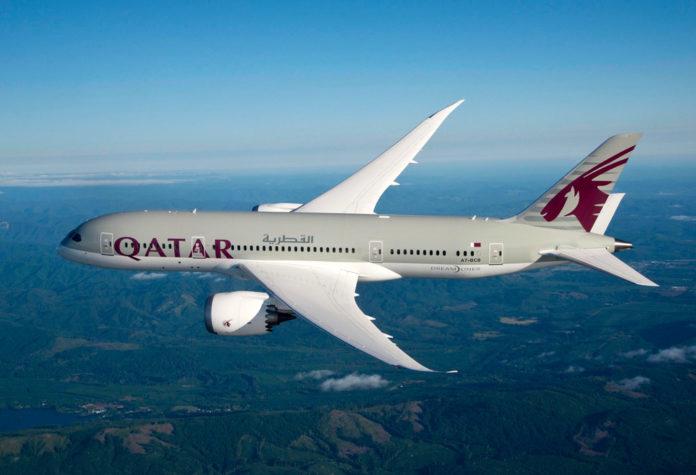 Boeing 787 Qatar Airways