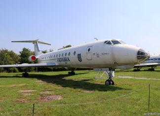 "Ту-134 ГАП ""Украина"" UR-65782"
