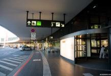 Вход в терминал 3 аэропорта Вены Швехат