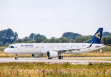 Airbus A321LR Air Astana