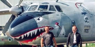 """Ан-26 авиакомпании """"Элерон"""", который доставляет посылки """"Новой Почты"""" между городами Украины"""