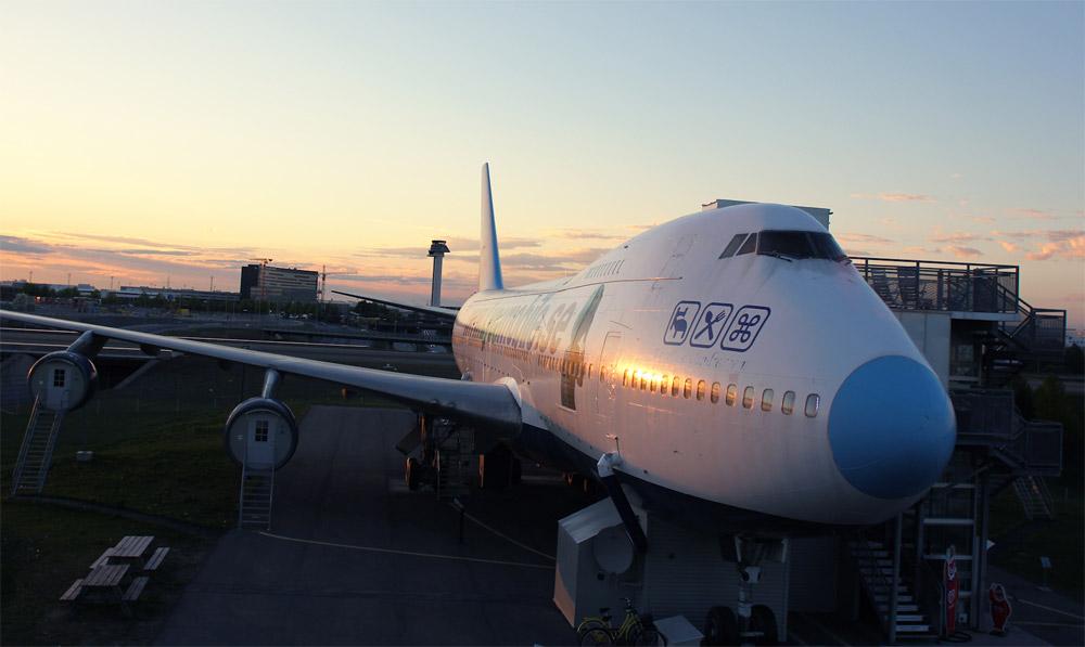 Boeing 747 Jumbo Stay. Фото: Jumbo Stay