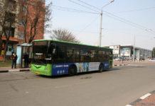 Автобус в аэропорту Харьков