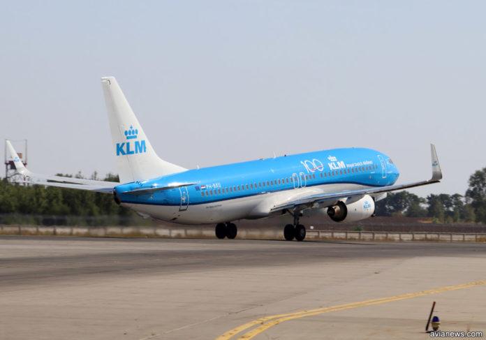 Boeing 737-800 KLM