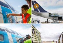Процесс разборки борта Airbus A340-600 D-AIHO авиакомпании Lufthansa