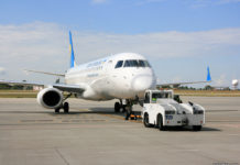 Буксировка самолета в аэропорту (push-back)