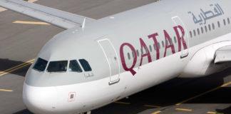 Airbus A321 Qatar Airways