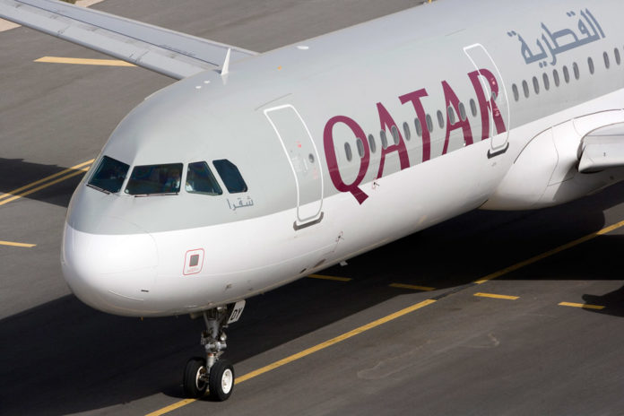 Airbus A321 Qatar Airways