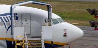 Boeing 737 MAX 200 Ryanair без обозначения модели