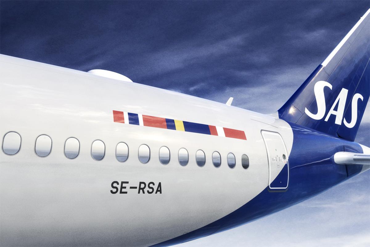 Новая ливрея SAS 2019 года