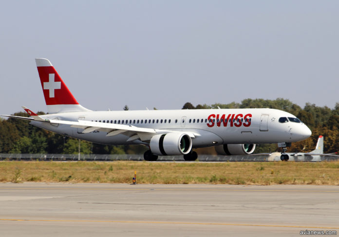 Airbus A220 Swiss